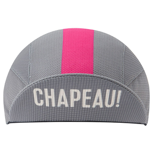 Chapeau! Lightweight Cap Central Stripe - Flint Grey