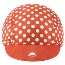 Load image into Gallery viewer, Chapeau! Lightweight Cap Polka Dot - Devon Red | VeloVixen
