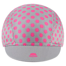 Load image into Gallery viewer, Chapeau! Lightweight Cap Polka Dot - Flint Grey | VeloVixen