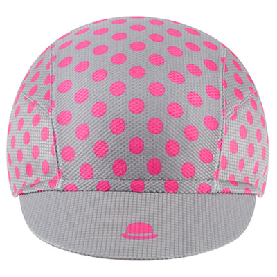 Chapeau! Lightweight Cap Polka Dot - Flint Grey