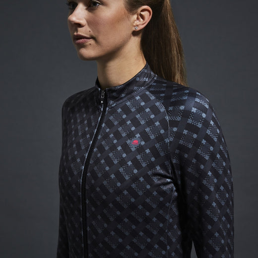 Chapeau! Madeleine Thermal Jersey - Light Black