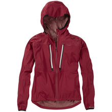 Load image into Gallery viewer, Madison Flux super light women's waterproof softshell jacket, blood red | VeloVixen