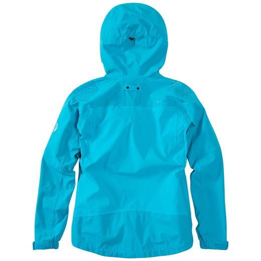 Madison DTE women's waterproof jacket, caribbean blue
