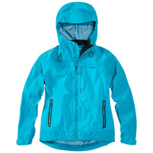 Load image into Gallery viewer, Madison DTE women's waterproof jacket, caribbean blue | VeloVixen