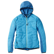Load image into Gallery viewer, Madison DTE women's hybrid jacket, caribbean blue | VeloVixen
