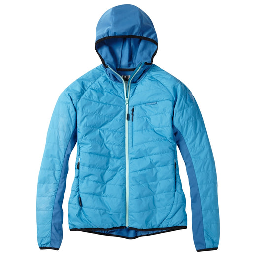 Madison DTE women's hybrid jacket, caribbean blue | VeloVixen