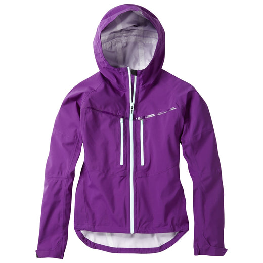 Madison Zena women's waterproof jacket, imperial purple | VeloVixen
