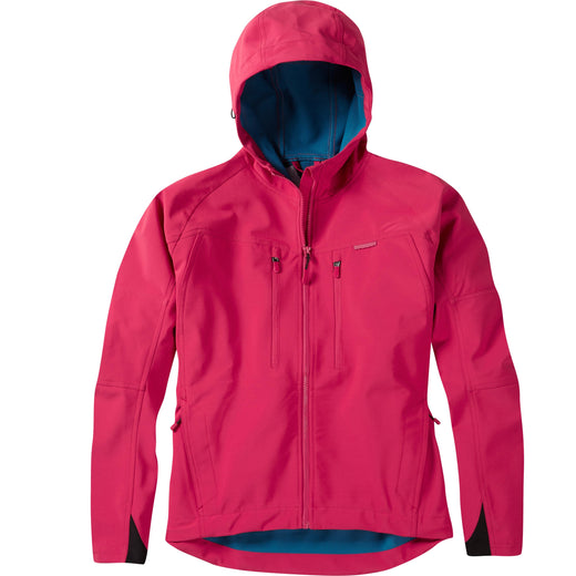 Madison Zena women's softshell jacket, rose red | VeloVixen