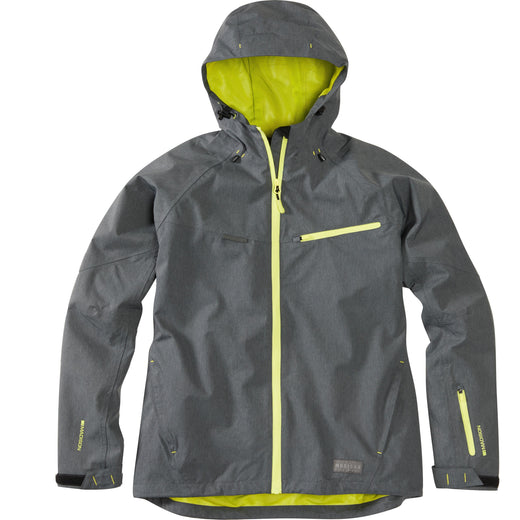 Madison Leia women's waterproof jacket, dark shadow | VeloVixen