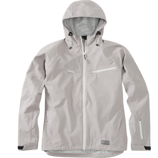 Madison Leia women's waterproof jacket, cloud grey | VeloVixen