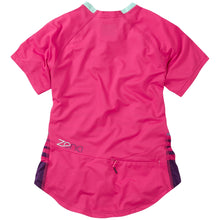 Load image into Gallery viewer, Madison Zena Women's Short Sleeve Jersey - Rose Red