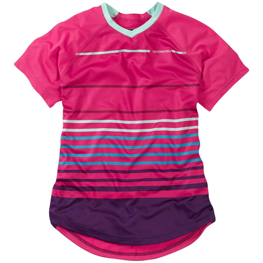 Madison Zena women's short sleeve jersey, rose red | VeloVixen
