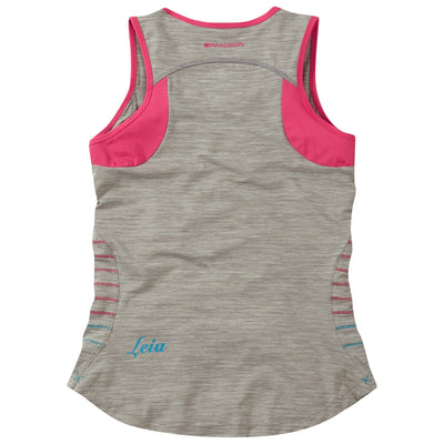 Madison Leia Sleeveless Jersey - Silver Grey