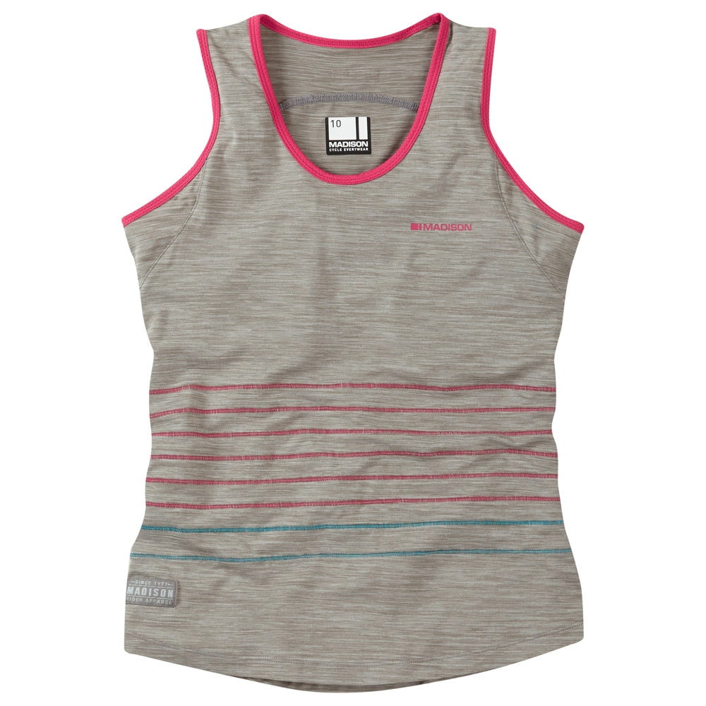 Madison Leia women's sleeveless jersey, silver grey | VeloVixen