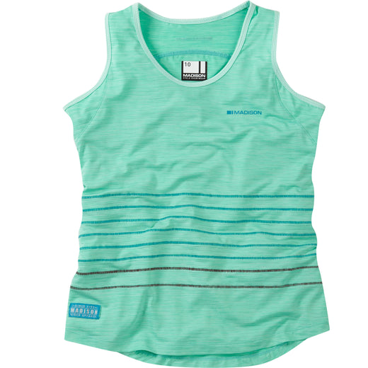 Madison Leia Sleeveless Jersey - Sea Green