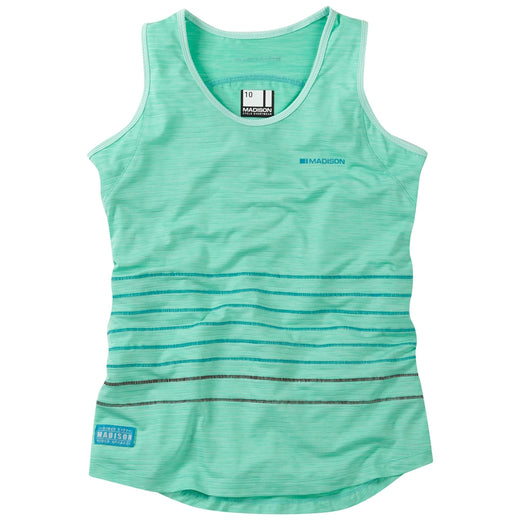 Madison Leia women's sleeveless jersey, sea green | VeloVixen