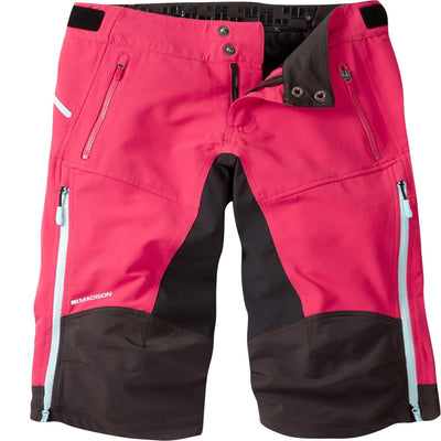 Madison Zena women's 4-Season DWR shorts, rose red