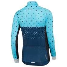 Load image into Gallery viewer, Madison Sportive Long Sleeve Thermal Jersey - Hex Dots Blue Curaco