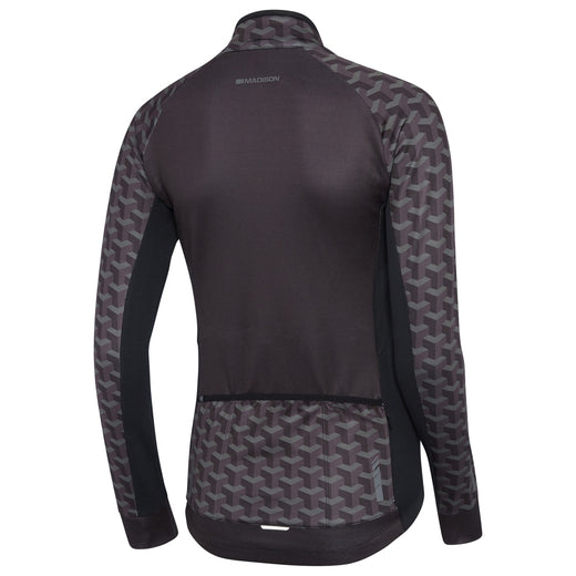 Madison Sportive Long Sleeve Thermal Jersey - Geo Camo Black