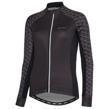 Load image into Gallery viewer, Madison Sportive women's long sleeve thermal jersey, crosshatch dark shadow | VeloVixen