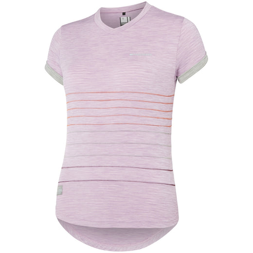Madison Leia women's short sleeve jersey, violet mist / silver grey | VeloVixen