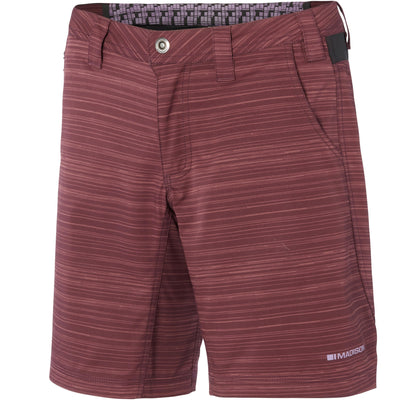 Madison Leia women's shorts, black grape / fudge