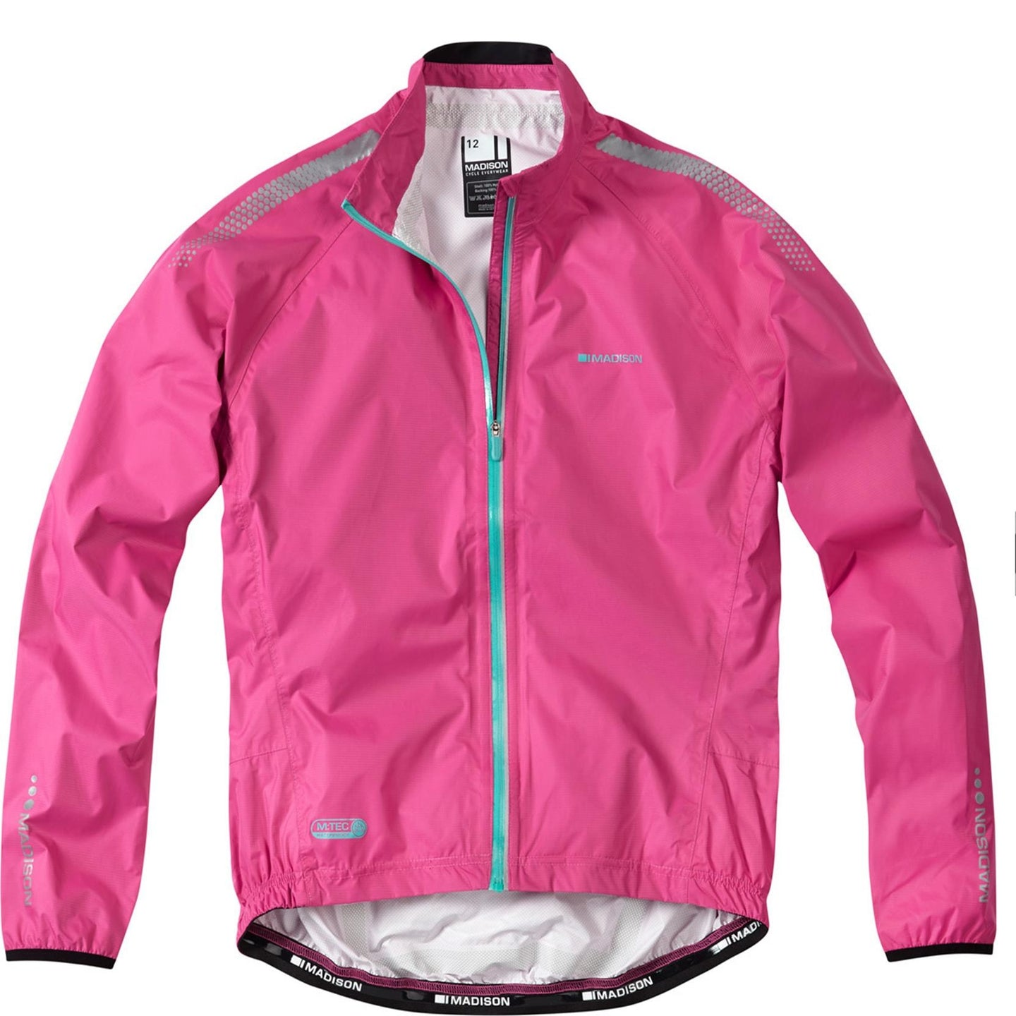 Madison Oslo women's jacket, very berry | VeloVixen