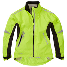 Load image into Gallery viewer, Madison Stellar women's waterproof jacket, hi-viz yellow | VeloVixen