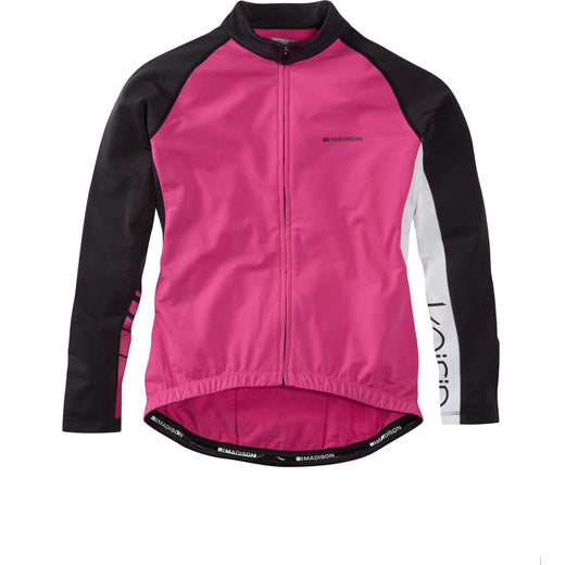 Madison Keirin women's long sleeve thermal jersey, very berry | VeloVixen