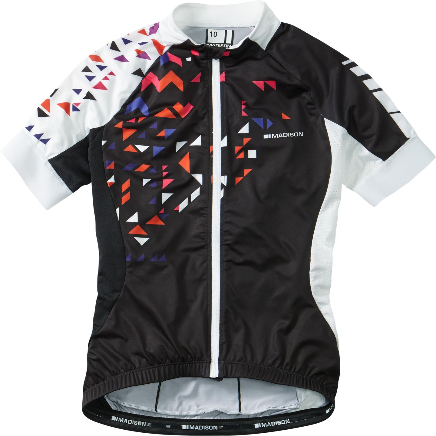 Madison Sportive women's short sleeve jersey, black / white | VeloVixen