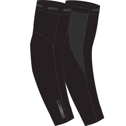 Madison RoadRace Optimus Softshell arm warmers, black | VeloVixen
