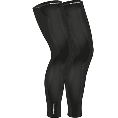 Madison Isoler Thermal Leg Warmers - Black