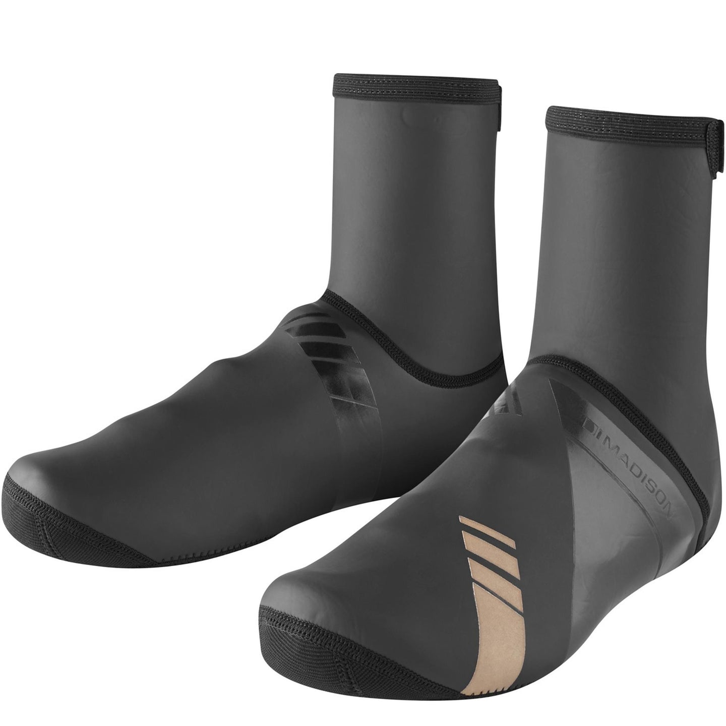 Madison Shield Neoprene Closed Sole overshoes, black | VeloVixen