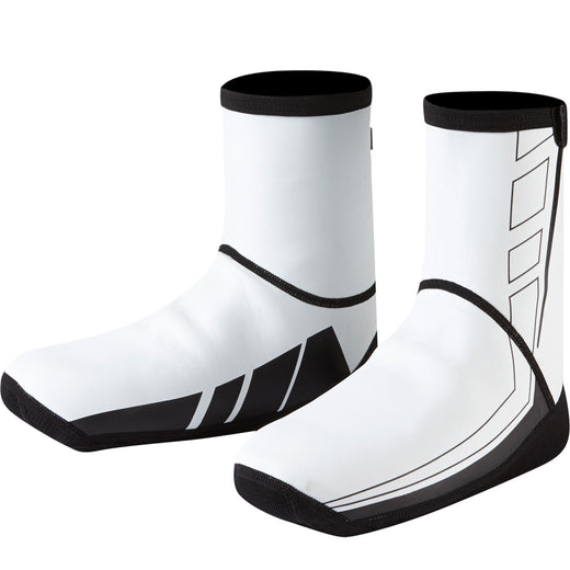 Madison Element Neoprene Open Sole overshoes, white | VeloVixen