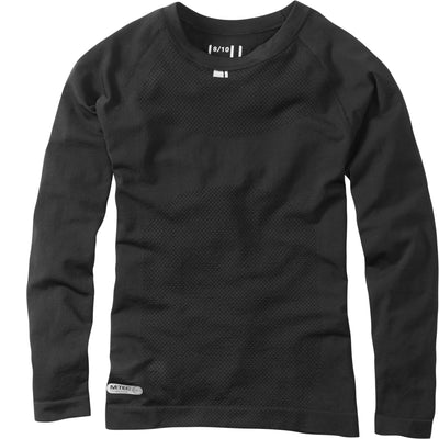 Madison Isoler Mesh Long Sleeve Baselayer - Black