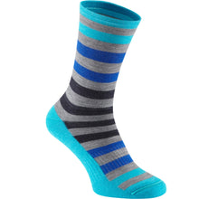 Load image into Gallery viewer, Madison Isoler Merino 3-Season Sock - Blue Fade