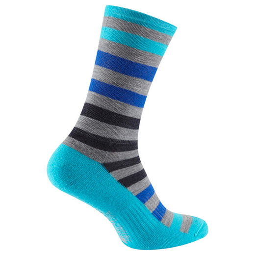 Madison Isoler Merino 3-Season Sock - Blue Fade