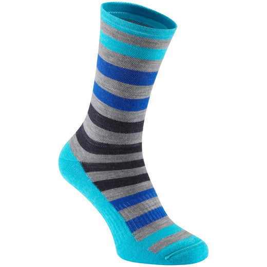 Madison Isoler Merino 3-season sock, blue fade | VeloVixen