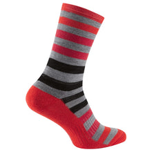 Load image into Gallery viewer, Madison Isoler Merino 3-Season Sock - Red Fade