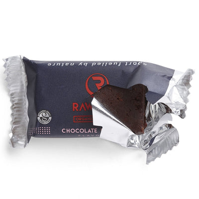 Rawvelo Organic Energy Bar - Chocolate Raspberry