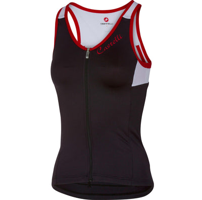 Castelli Solare Top - Black/White/Red