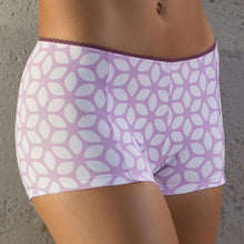Load image into Gallery viewer, Urbanist Women's Cycling Padded Purple Flower Pants | VeloVixen