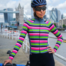 Load image into Gallery viewer, Stolen Goat Bodyline Long Sleeve Womens Cycling Jersey - Slam