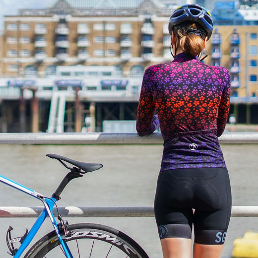 Stolen Goat Bodyline Long Sleeve Womens Cycling Jersey - Nori