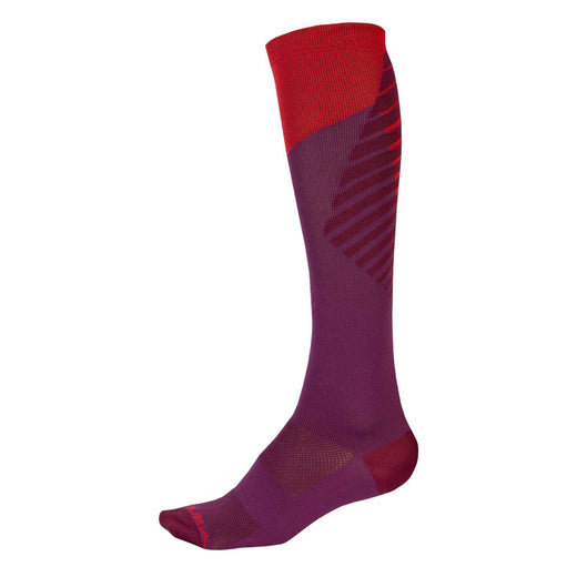 Endura Singletrack Sock - Mulberry | Velo Vixen