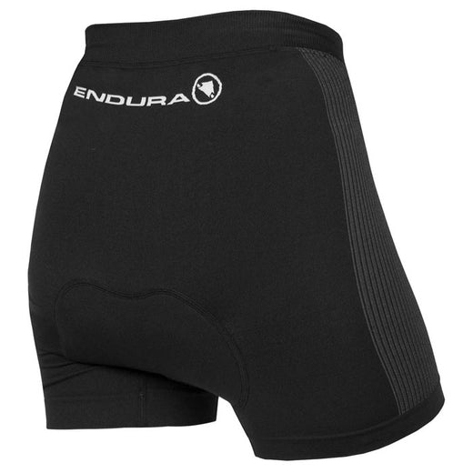 Padded black cycling undershorts for women - Endura