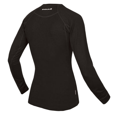 BaaBaa Merino Long Sleeve Baselayer -  Black