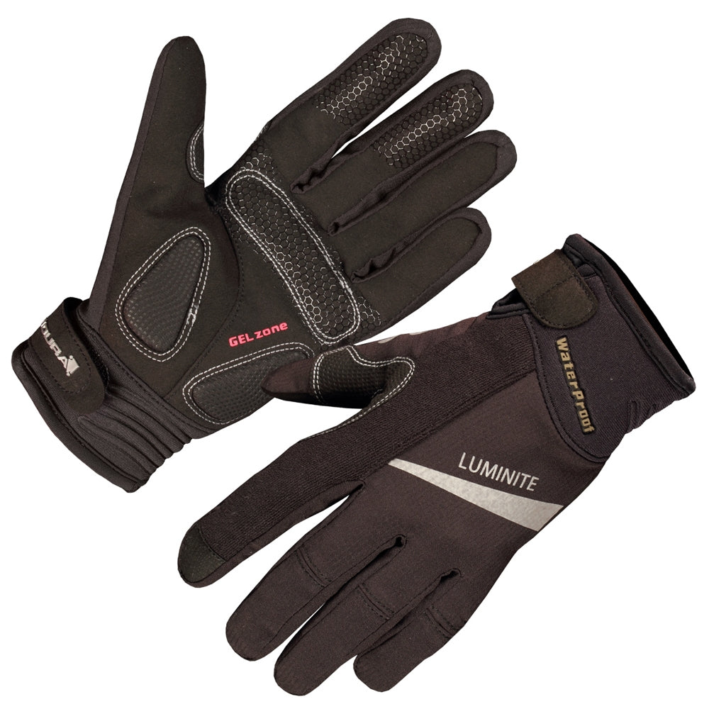 Endura Luminite Glove - Black | VeloVixen