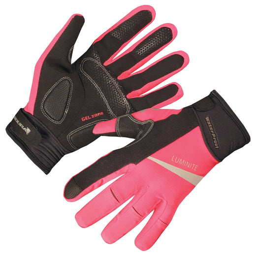 Endura Luminite Glove - Hi-Viz Pink
