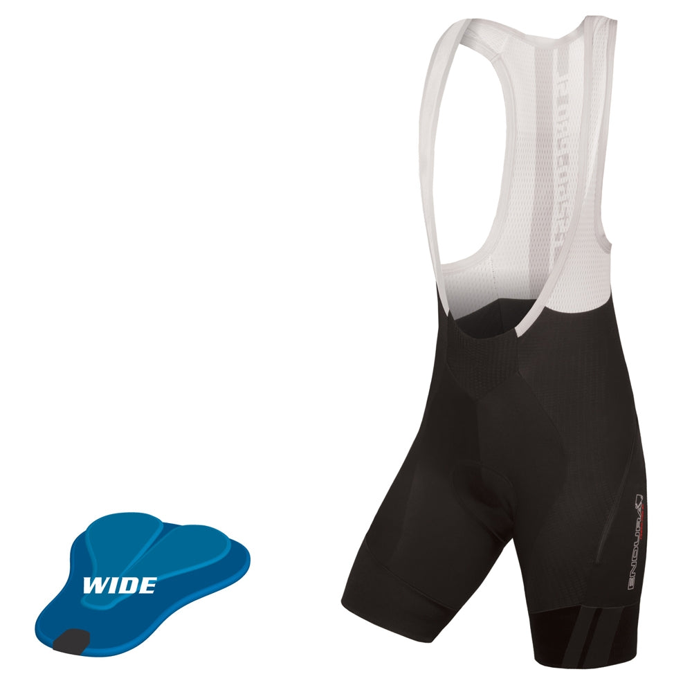 Endura Pro SL Bibshort DS (Wide Pad) - Black | VeloVixen